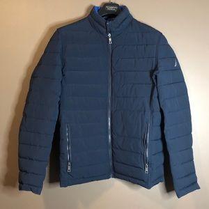 Nautical men's reversible jacket. Size medium